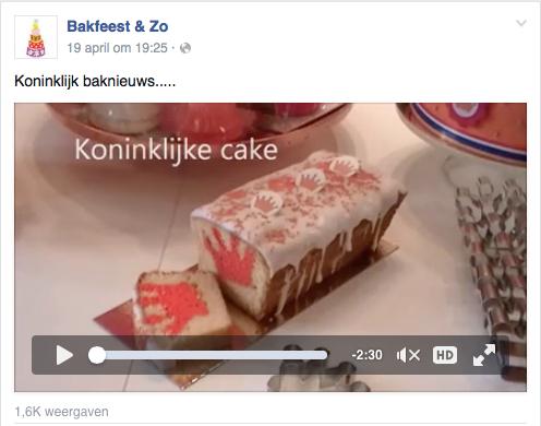 Koninklijke cake